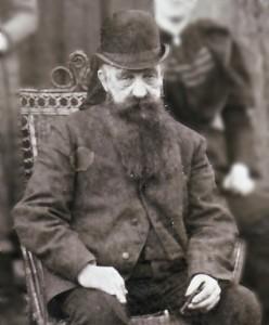 Georg Justus Dralle, circa 1885.