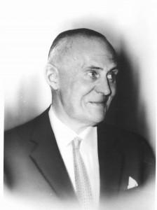 Machiel Wilmink omstreeks 1960.