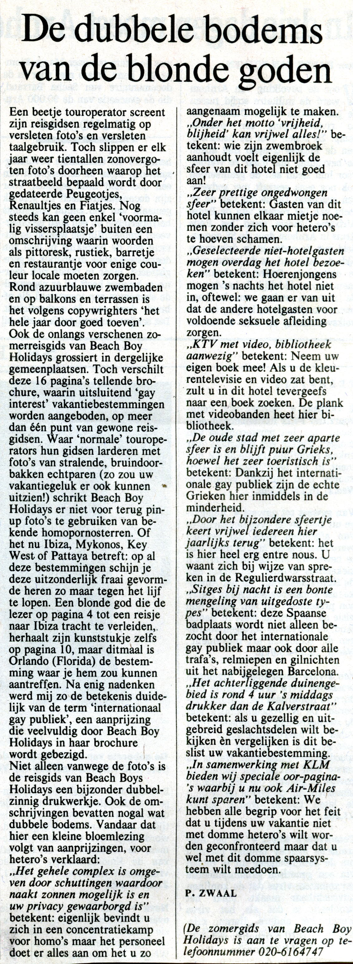 Gay krant nrc