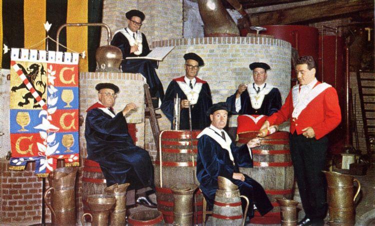 Dekens en hoofdlieden van het gilde, 1966.