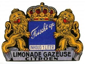 Etiket Frischt op limonadegazeuse citroen