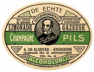 Etiket Champagnepils, 1926