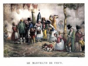 Le marchand de coco (Martin Sylvestre Baptiste, 1827)