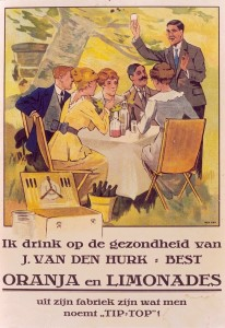 reclameplaat circa 1925 (collectie Bavaria N.V.)