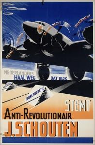 Verkiezingsaffiche 1946.