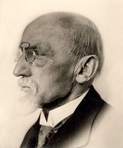 Jan Ruurd Kuipers (1849-1926) circa 1920 (collectie Wanda Peters)