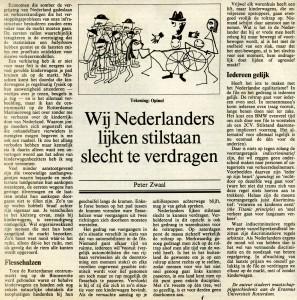 NRC Handelsblad, 23 mei 1989