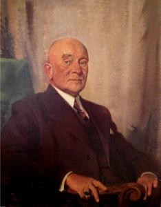 Pieter Bokma, 1943 (schilderij Piet van der Hem.