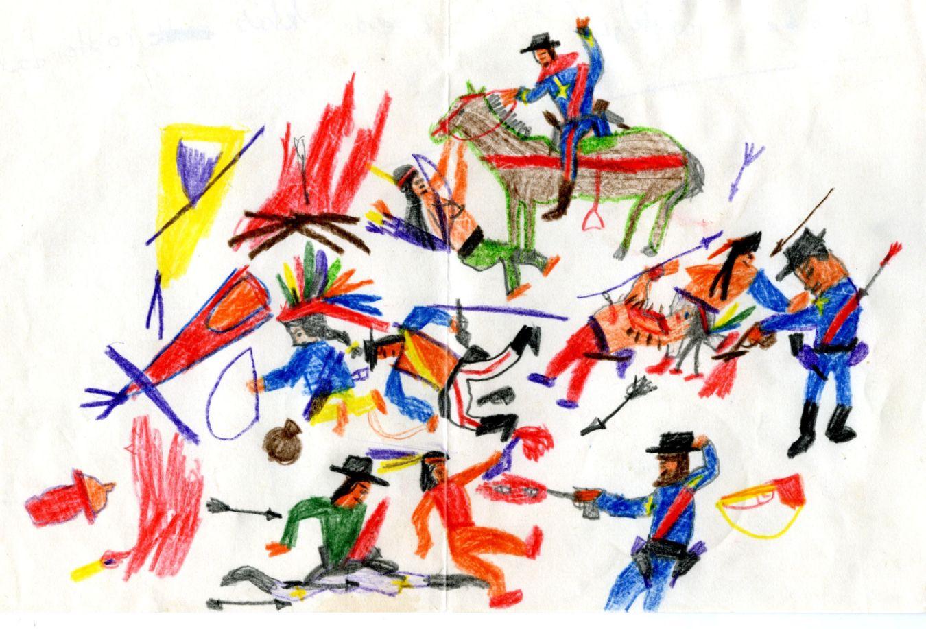 Kindertekeningen   Peter Zwaal