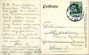 prentbriefkaart 16-12-1909 (achterzijde)