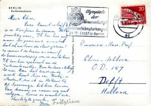 prentbriefkaart 25-09-1957 (achterzijde)