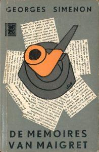 De memoires van Maigret (omslag Dick Bruna) 1956