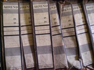 aangetroffen archivalia RGD en VGD