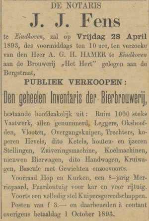 De Peel- en Kempenbode, 8 april 1893