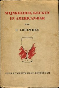omslag Wijnkelder, keuken en American-bar (1939)