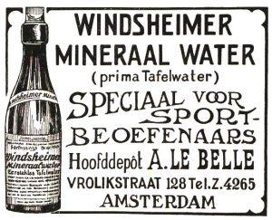advertebntie uit Het Sportblad, 3 mei 1917