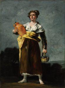 El aguadora (Goya) 1808-1812 (68 x 52 cm) Szépmüvészeti Múzeum, Budapest