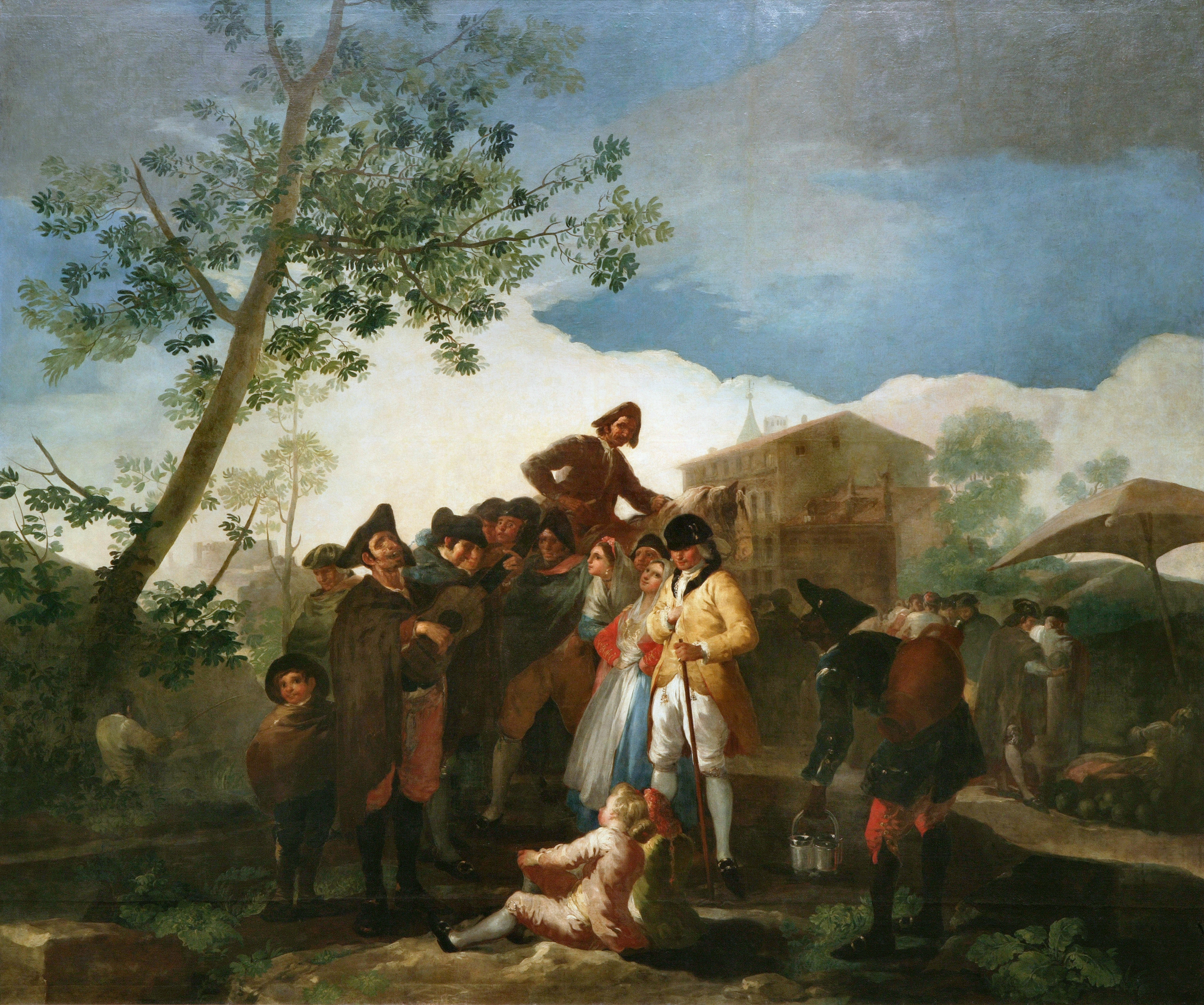 El ciego de la guitarra (Goya) 1778 (260 x 311 cm) Prado
