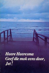Geef die mok eens door, Jet (Heere Heeresma) 1979 (omslagfoto Steye Raviez)