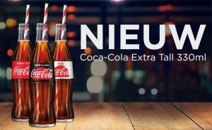 Coca-Cola Extra Tall 330 ml (mei 2018)